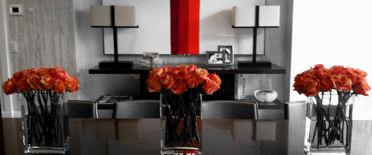 Add color and bring life into your workspace with our elegant floral designs.